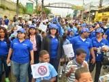 Marchan en prevención de la tuberculosis