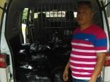 Ocupan contrabando de ajo en vehículo de Claro en Dajabón