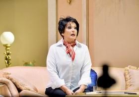 """La veterana actriz Cecilia García interpreta a Judy Garland en la obra """"Al final del arcoíris"""""""