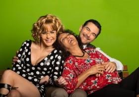 Luz García, Niurka Mota y José Roberto Díaz