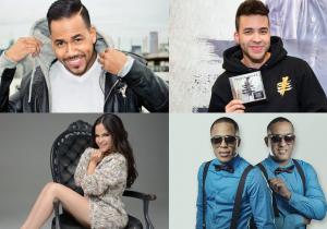 Romeo Santos, Prince Royce, Natti Natasha y Chiquito Team Band