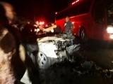 Diez heridos en un accidente de tránsito en Villa Sinda