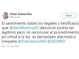Diputado llama irrespetuoso al alcalde Abel Martínez por denuncia sobre tema haitiano