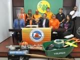 Cooperativa entrega equipos a la Defensa Civil de Sabana Iglesia