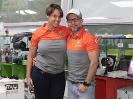 Yohanny Rodríguez y Dileccio Díaz.