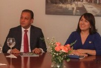 Abel Martínez y Emelyn Baldera.