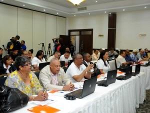 Técnicos del Ministerio de Agricultura participaron en el taller.
