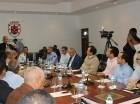 El ministro de agricultura Osmar Benitez se reunió con diferentes segmentos de la industria tabacalera.