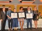 Ganadores del concurso de Arte León Jimenes