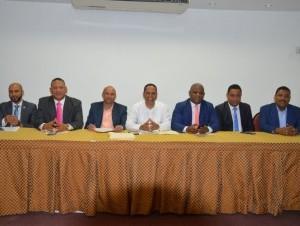 Directores de distritos municipales de la provincia.