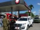 Las estaciones de combustibles fueron militarizadas en Dajabón.