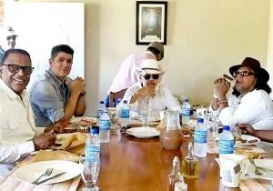 Wilfrido Vargas, Eddy Herrera, Rafa Rosario y Sergio Vargas