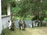 Segunda Brigada de Infantería de ERD realiza jornada de limpieza en balnearios de Santiago
