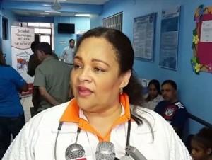 La doctora Maribel Jorge
