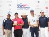 Alberto Menicucci y Tommy Suárez ganan el Torneo de Golf Regional Norte 2019