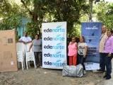 Edenorte entrega donación a organizaciones comunitarias