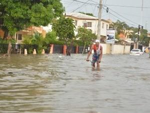 Esta es la primera lluvia de consideración que se registra tras un largo período de sequía  en la zona norte del país.