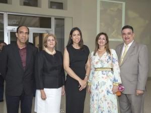 César Payamps, Ingrid González de Rodríguez, Nancy Tavárez, Fernando Báez.