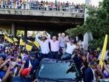 Gonzalo Castillo recorre Santiago en apoyo a los candidatos municipales