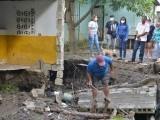 Piden reubicar viviendas ante daños causados tubería