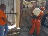 Defensa Civil realiza operativos de desinfección